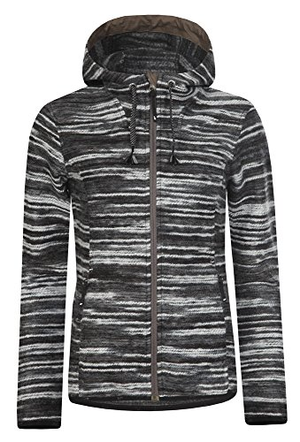 ICEPEAK Damen College Hooded Coll Jeena, Black, 38, 454833608I - 1