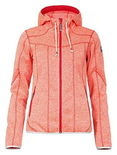 ICEPEAK Damen Fleece Lida, Blood Orange - 1