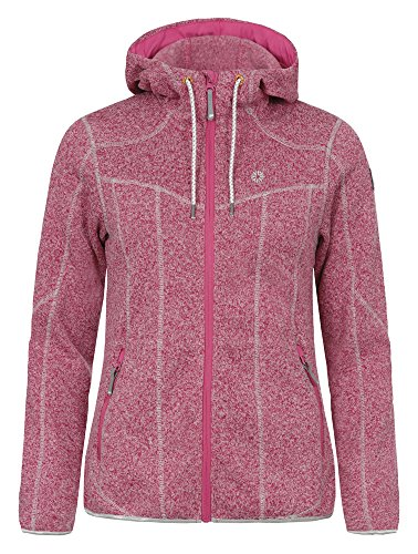 ICEPEAK Damen Fleece Lida, Light Pink - 1