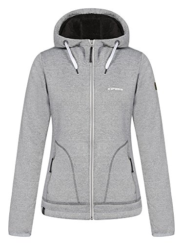 ICEPEAK Damen Softshell Jacket Taline, Light Grey, 40, 454951681I -
