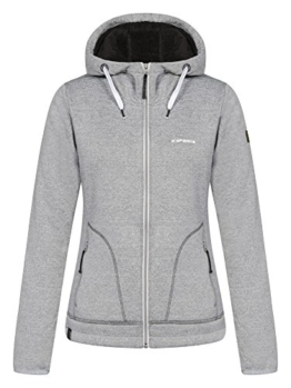 ICEPEAK Damen Softshell Jacket Taline, Light Grey - 1
