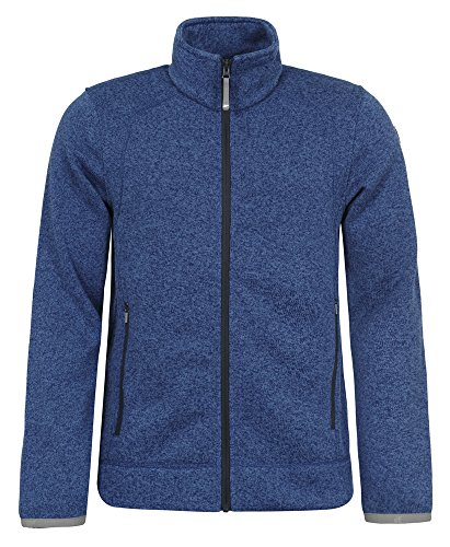 ICEPEAK Herren Strickfleece Josue, Navy Blue - 1