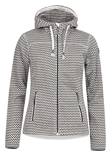 ICEPEAK Strickfleecejacke Damen Lunette, Light Grey - 1