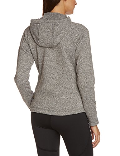 Jack Wolfskin Damen Fleecejacke Caribou Lodge, light grey, M, 1701131-6111003 -