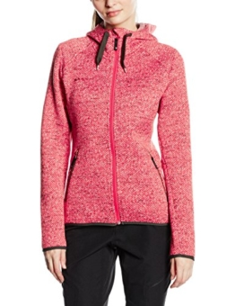 Mammut Damen Fleecejacke Kira Tour Midlayer Hooded, Light Carmine, XL, 1010-18700-3341-116 -
