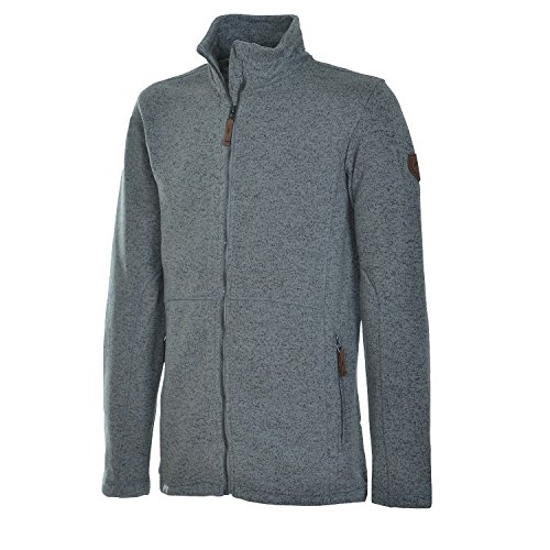 McKinley Herren Fleece – Jacke Hunty Grey Dark – S - 1