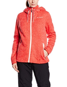 VAUDE Damen Sentino Jacket, Flame/White, 40, 05340 -