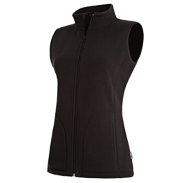 Active By Stedman Damen Fleece-Weste (L) (Schwarz) L,Schwarz -