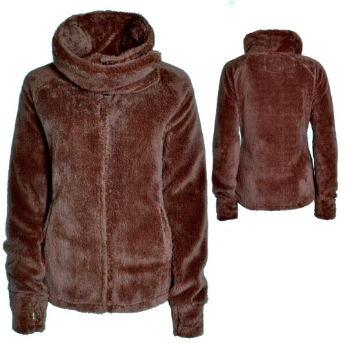 Eight2Nine Damen Teddy Fleecejacke - 1