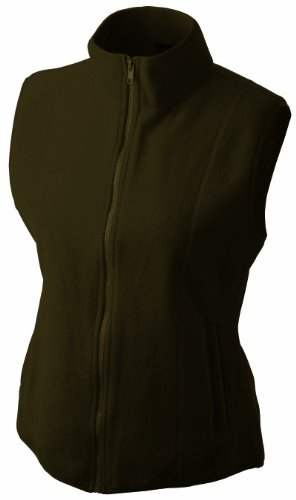 James & Nicholson Damen Fleeceweste Microfleece - 1