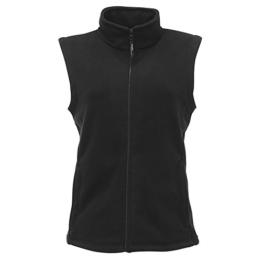 Regatta Damen Microfleece-Bodywarmer / Fleece-Weste (46 DE / 20UK) (Schwarz) -