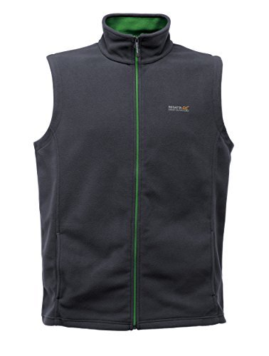 Regatta Herren Tobias II Vlies Bodywarmer Iron 2XL -