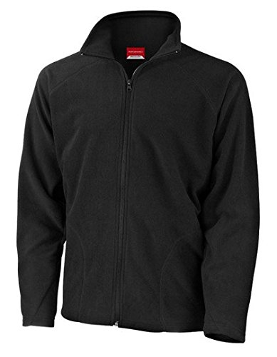 Result Micron Fleecejacke Fleece Jacke Kaelteschutz 3XL,Black -