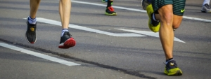 Laufsport mit der Fleecejacke